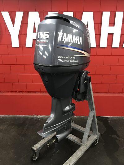 Yamaha 115 pk 4-takt Ultra langstaart gebruikt. Nu actie aanbiedingen!