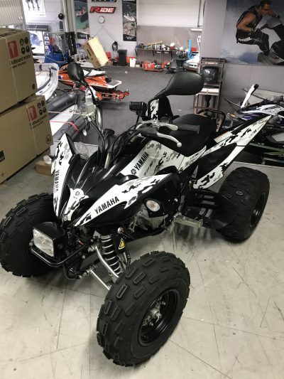 Yamaha Raptor 250 Limited edition met kenteken