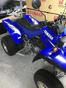 Yamaha Warrior 350cc met kenteken en achteruit.